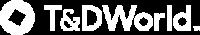 T&D World Logo White